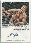 Jared Hamman 2011 Topps UFC Moment Of Truth Autographs Card # CSJH