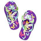 Disney Tinker Bell Flip Flops for Girls 7 8 and 9 10 NEW close out sale