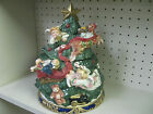 Angel Christmas Tree Cookie Jar by Omnibus (division of Fitz and Floyd)