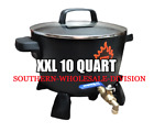 XX LARGE ELECTRIC WAX MELTER CANDLE MAKING WAX MELTING 10 QUART 16 17 LBS