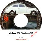 VOLVO PV Parts & Service Manual CD, catalogs & extra!!