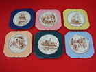 Rare Complete LOT 6 Vintage 1950s Syracuse China American History Wall Plates