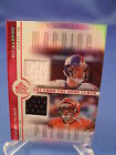 2005 UD FOOTBALL - ELI MANNING REFLECTIONS CUT from CLOTH (1) NFL RELIC CARD