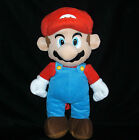 """18"""" Super Mario Brothers Doll Packpack Plush Child Zipper Adjustable Straps"""