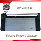 Portable New 18 460mm Manual Rotary Paper Cutter Portable Trimmer+1 Extra Blade
