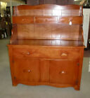Maple 2 Piece Hutch Cupboard Cabinet