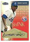 2000 Fleer Tradition Fresh Ink Autograph Vladimir Guerrero