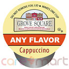 Grove Square Cappuccino K-cups, All Flavors & Counts, YOU PICK! Keurig K-Cups