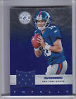 2012 PANINI TOTALLY CERTIFIED #53 ELI MANNING JERSEY NEW YORK GIANTS 139 249