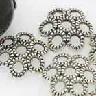 Pack of 10 12mm Tibetan Silver Spacer Charms Finding Bead Caps Beads