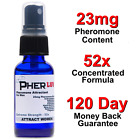 PHEROMONE SPRAY COLOGNE for MEN *ATTRACT WOMEN! 52X ***NEW*** ANDROSTENONE