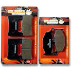 For Suzuki FR+R Brake Pads GSXR600 & GSXR750 (2006-2010) GSXR1000 (2007-2008)