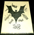 RARE 1966 BATMAN IRON ON PATCH VINTAGE ORIGINAL BAM SOCK ZOW Thwapp NEW