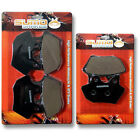 Harley F+R Brake Disc Pads Dyna FXDXT Superglide Sport (01-03) FXDXi (2004-2005)