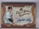 2006 SP LEGENDARY CUTS #PH-GP2 GAYLORD PERRY AUTO. - S.F. GIANTS, HOF #67 99