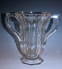 EAPG PATTERN GLASS COLONIAL HANDLED CELERY VASE MINT