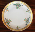 Antique Hand Painted Pickard 24K Gold Banded Cake Plate 8.5