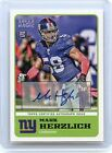 2011 TOPPS MAGIC #48 MARK HERZLICH AUTOGRAPH ROOKIE RC, NEW YORK GIANTS, 90413