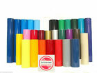 12 x 5 Ft VINYL ROLLS Adhesive Backed Gloss Vinyl Die Cut Decals Plotter Sign