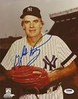 Gaylord Perry Signed 1980 Yankees 8x10 Photo PSA DNA COA Autograph Picture HOF