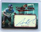 2012 PRESS PASS #ST-AB ANDRE BRANCH AUTOGRAPH ROOKIE RC