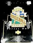 1993 Upper Deck Major League Baseball MLB SERIES ONE Box SEALED, NEW
