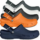Crocs Bistro Unisex Clogs Work Shoes Mens Womens slip resistance Black White