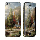 DecalGirl Matte Skin fits iPhone 5s Only ~ Mountain Majesty by Thomas Kinkade