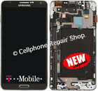 T-Mobile Galaxy Note 3 III Samsung N900T LCD Touch Screen Digitizer Window Frame