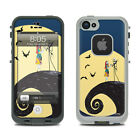 Skin for LifeProof iPhone 5 - Jack and Sally - Sticker Decal