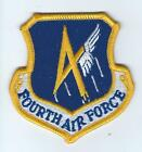 4th AIR FORCE #3  patch