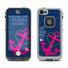 Skin Kit for LifeProof FRE iPhone 5S - Drop Anchor - Sticker Decal