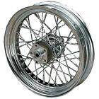 Drag Specialties Twisted Cut Chrome Spoke Set DS-380119 11308W-HC9