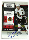 2010-11 Playoff Contenders Autograph Nick Leddy