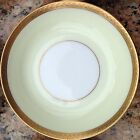 Genuine 24k Carat Yellow Gold Trim JAPAN & DECORATED IN THE USA Porcelain Bowl