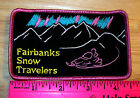 Fairbanks Alaska Snow Travelers Snowmobile club embroidered Patch, hard to find!