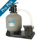 Dohenys Above Ground 19 in Sand Filter System with 1 HP Pump