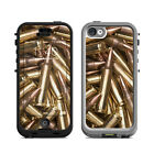 Skin Kit for Lifeproof iPhone 5c NUUD ~ BULLETS ~ Decal Sticker