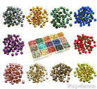 Mixed Box Sets of Hot Fix Iron On Metal Studs in Varies Sizes 4mm 5mm 6mm