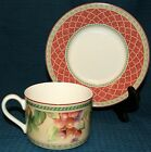 Fitz & Floyd Classic Choices Sonoma Floral Cup & Saucer Set