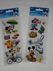 Disneys 19 pc 3D sticker collection MICKEY AND MINNIE ON VACATION