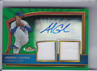 2011 TOPPS FINEST #87 ANDREW CASHNER AUTOGRAPH ROOKIE RC JERSEY CUBS 29 149 4274