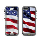 Skin for LifeProof Nuud iPhone 5S - Patriotic - Sticker Decal
