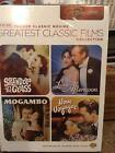 TCM Greatest Classic Films Collection Romance DVD 2010 2 Disc SetBRAND NEW