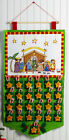 Bucilla Christmas Pageant Felt X Stitch Nativity Advent Calendar Kit 86388