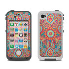 Skin for LifeProof iPhone 4/4S - Carnival Paisley - Sticker Decal
