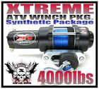 4000lb NEW UTV ATV WINCH POLARIS RANGER 02-08 4000 LB