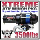 3500LB COMPLETE ATV WINCH PKG. YAMAHA 98-01 Grizzly 600