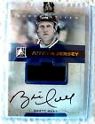 NHL Brett Hull 2007-08 ITG Superlative gold version auto. and jersey out of 10