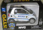New Ray 1/24 NYPD New York City Police Department SMART CAR